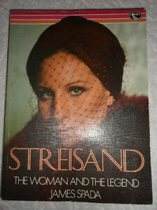 Streisand The Woman and the Legend by James Spada (Softcover)