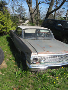 Western 1963 Chevrolet Impala project car sell or trade