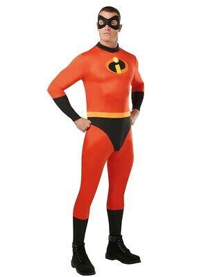 Erwachsene Herren Herr Unglaubliche Verkleidung - Herr Unglaubliche Kostüm