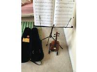 Kids violin beginners set up