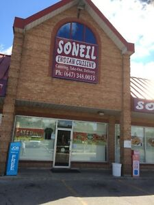 Mini banquet hall available near kipling and steels