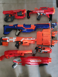 Gently Used Nerf Collection