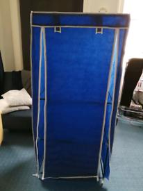 Single canvas clothe storage