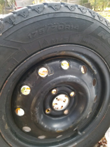 Good Year Nordic Winter tires 175/70/R14