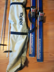 Skis carry bag poles and goggles why rent?