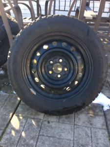 Snowtires and Rims 195/55 R15