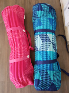 Two beach mats from costco