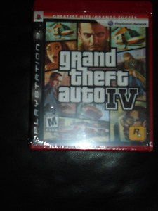 GRAND THEFT AUTO IV BRAND NEW ORIGINAL PACKAGING