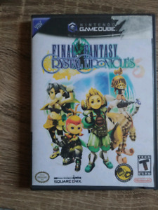 Final fantasy the crystal chronicles ganecube