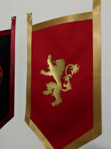 Game of Thrones Banners (home or bedroom decor)