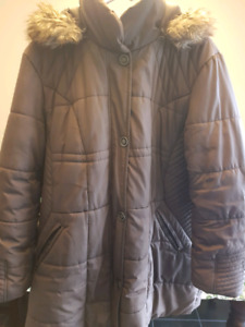 LADIES WARM WINTER PARKA  MADE BY JESSICA AT SEARS   SIZE 18W 1X