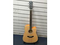 Well burn semi acoustic guitar brand new in the box