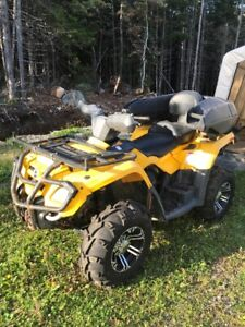 2009 can-am 400 outlander 2 up seat for sale