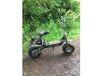 Desert storm 50 cc Scooter / field bike
