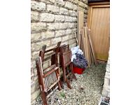 FREE WOOD-BURNER WOOD - FOR COLLECTION