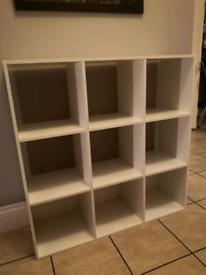 9 Cube Shelving Unit - Quick Sale