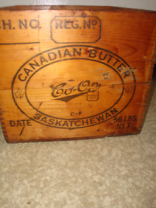 Canadian Butter Box