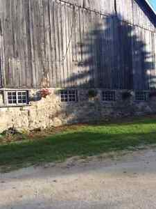 Wedding Barn with Accommodations- Collingwood