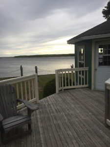 Waterfront Cottage for weekly stays