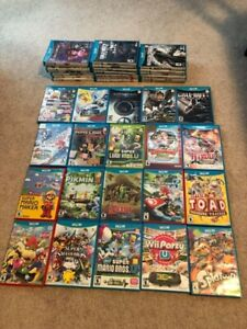 Bunch of Nintendo Wii U games