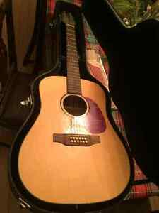 Segovia 12 string guitar,with hard case. Kitchener / Waterloo Kitchener Area image 2