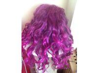 💗💗 Very Very long purple fun wig