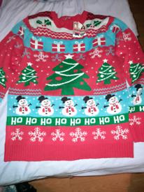 For Sale Ladies Christmas Jumper Size L