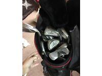Golf Clubs & Ryder Bag