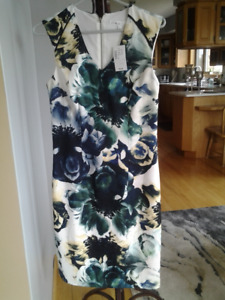Beautiful size 2 floral dress - Never worn