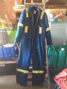 Nomex Insulated Reflective Coveralls. Sz Lrg Tall