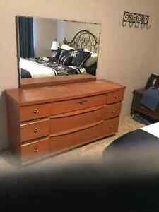 2 dressers and a chest of drawers