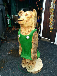 Chainsaw Carved Mama Bear Gatineau Ottawa / Gatineau Area image 2