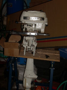 Sears 4 hp Outboard Boat Motor