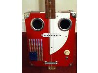 3 Sting box guitar