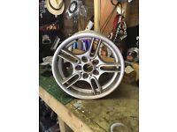 """Style 66 BMW alloy wheel 17"""" 5 spoke twin spoke m sport"""