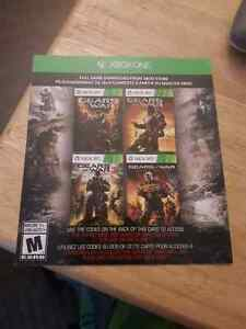 Gears of War 1-3 and Judgement