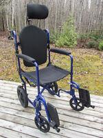 "19"" Invacare wheelchair - Chaise Roulante 19"" Invacare"
