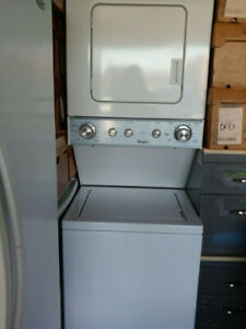 Selling Whirlpool stacked washer/dryer in excellent condition
