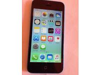 iPhone 5c 8G unlocked blue (2037)