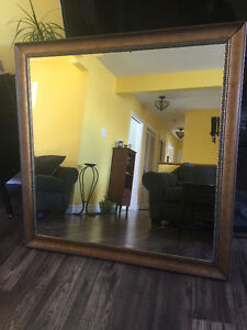 Large Beveled Mirror