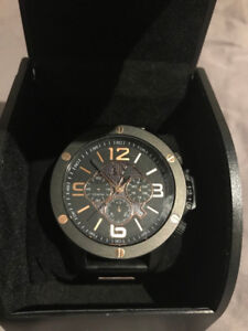 Armani Exchange AX1513 Black and Gold Watch (NEW)