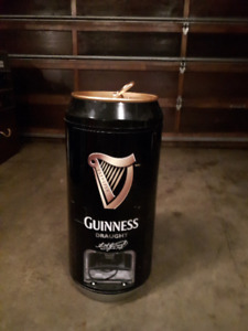 Cool!!!GUINNESS DRAUGHT MINI FRIDGE for your Ultimate ManCave