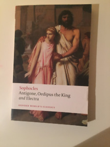 Sophocles: Antigone, Oedipus the King, and Electra
