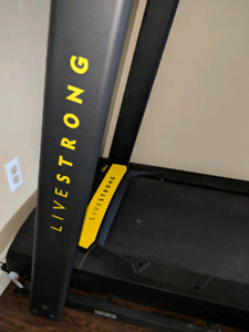 Live strong treadmill in brand new condition