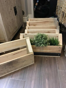 Pallet Book Shelf / Wine Rack / Herb Planter - TODAY ONLY