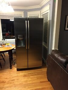 Stainless Steel Samsung 26 Cubic Feet Side by Side Refrigerator