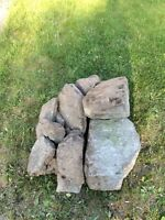 Free Stones for Garden Edging/Garden Decor