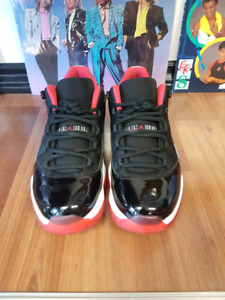 Air Jordan 11 Low Bred Size 10 Men Mens 9/10