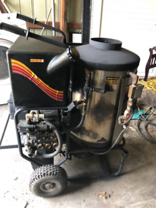 Aladdin diesel heated power washer