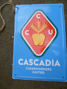 CASCADIA CIDERWORKERS UNITED SIGN